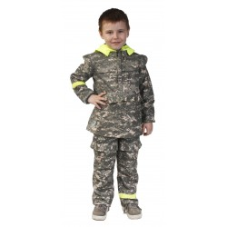 Детский костюм Биостоп для дошкольной возрастной группы (зеленый камуфляж)
